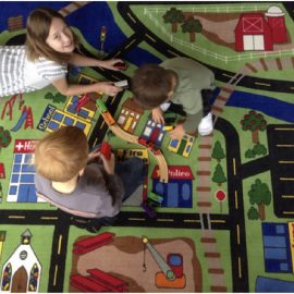 How do you make sure that every preschooler plays in every corner?