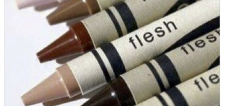 'That pencil is not flesh coloured. It's brown': talking about skin colours in the classroom