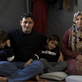 Helping refugee children by helping their parents